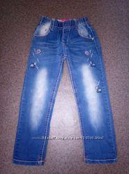 Джинсовые брюки для девочек F&D 110р