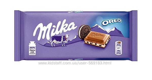 швейцарский шоколад Milka