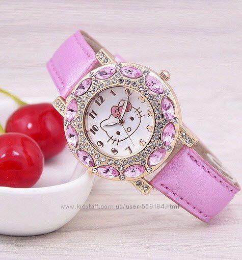 Часики для Вашей принцессы Hello Kitty Разные модели Качество Беспл Доставк