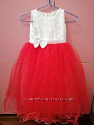 Платье вечернее для девочки на выпускной 5-6 лет