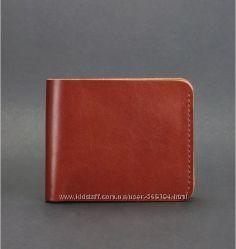 Купюрник кожаный мужской карты Украина цвета