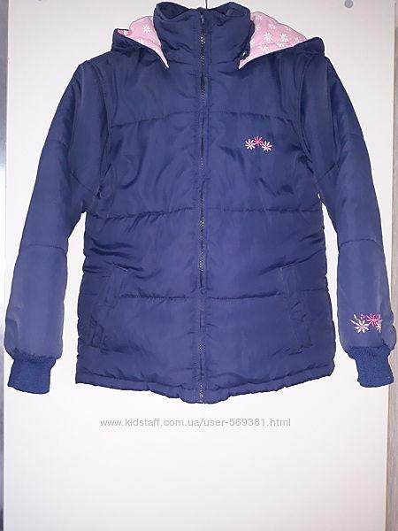 Куртка демисезонная 122-128 р.