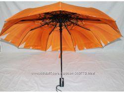 Зонт с двойной тканью купола. Полуавтомат