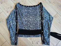 Трикотажная блузка р-р 44-46