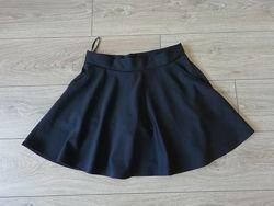 Мини-юбка с шортами р-р 48-52