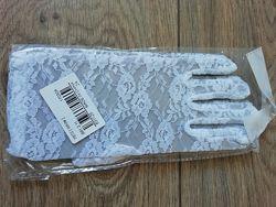 Перчатки гипюровые р-р М-L