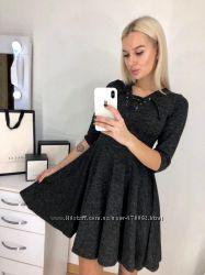 Молодежное платье из ангоры
