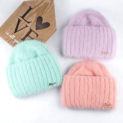 Теплые шапочки из ангоры