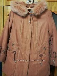 Курточка зимняя в 54р.