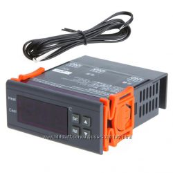 Цифровий регулятор температури, 220V, навантаження 30A, діапазон вимірювання -40  120 Цельсія, терморегулятор