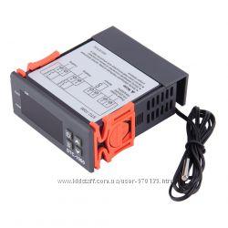 Цифровий регулятор температури, 2 перемикачі холод-тепло, Термостат, Діапазон -50  90 Цельсія,  220V 10A