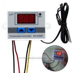 Цифровий контролер температури, терморегулятор, 10A, 220В