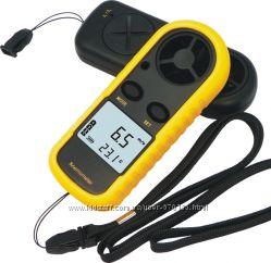 Цифровой анемометр GM-816, измеритель скорости воздуха, газов.