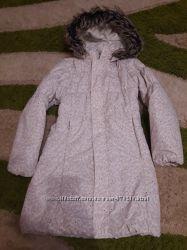 Пальто зимнее для девочки р140
