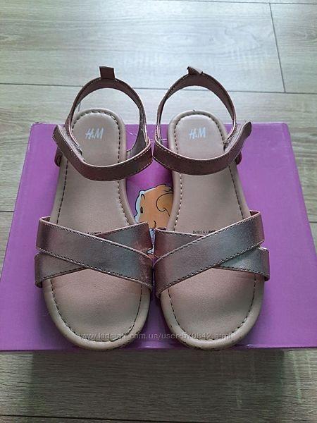 Босоножки H&M для девочки 31 размер