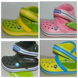 Сабо Crocs для детей, разные цвета, все размеры