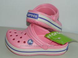 В наличии сабо Crocs на девочку размер  31-32