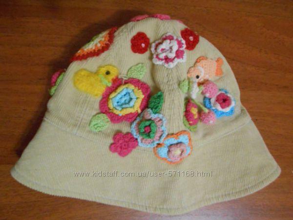 Шляпка-панамка для девочки TuTu 2-3 года