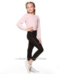 Школьные брюки с лампасами пайетки от Lukas-Kids