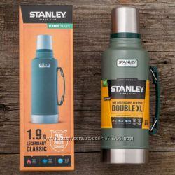 Термос Stanley Classic Bottle 1. 9L - Green - термос с пожизненной гарантие