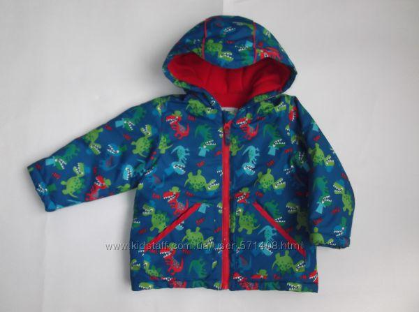 Курточка теплая для мальчика 1-1. 5 года, на рост 80-86 см Mini club