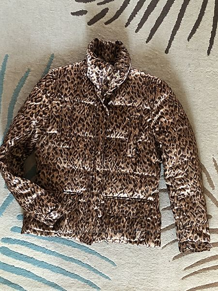 Леопардовая куртка, пуховик Zara