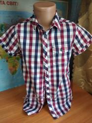 рубашки для мальчика 5-7 лет