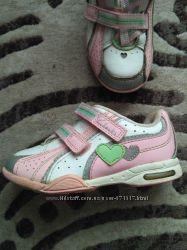 Кожаные кроссовки ботинки Clarks.  Стелька 14, 5 см