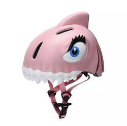Детский защитный шлем Акула для велосипедов роликов самокатов беговелов