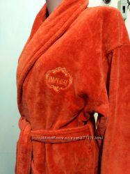 Шикарный махровый халат 100 коттон размер s-m