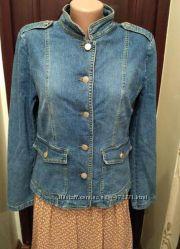 Infinity. джинсовая куртка, пиджак, размер l