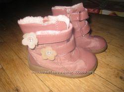 Продам демисезонные ботиночки Bobby Shoes на девочку 21р.