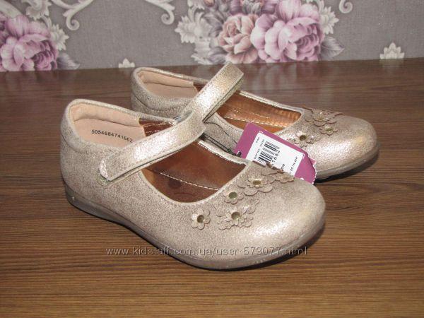 Новые золотистые балетки и туфельки
