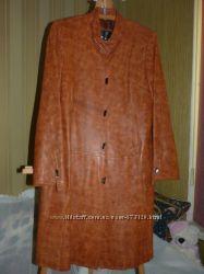 Пальто кожа натуральная, Италия  Турция