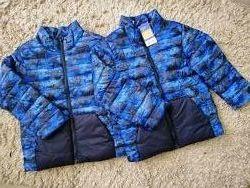 Демисизонные курточки 2 шт. Lupilu для мальчиков 4-5 лет.
