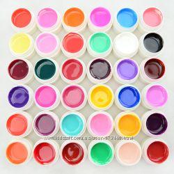 Наборы УФ - гелей Краска для ногтей