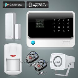 Охранная сигнализация для дома, офиса, гаража