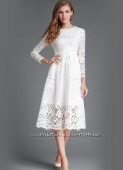 Ажурные платья Кружево