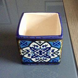 Цветочный горшок, керамика