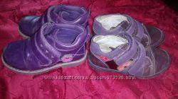 2 пары осенних закрытых туфелек. Цена за обе