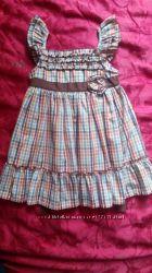 Красивое платье от Laura Ashley на 2 года Новое Хлопок