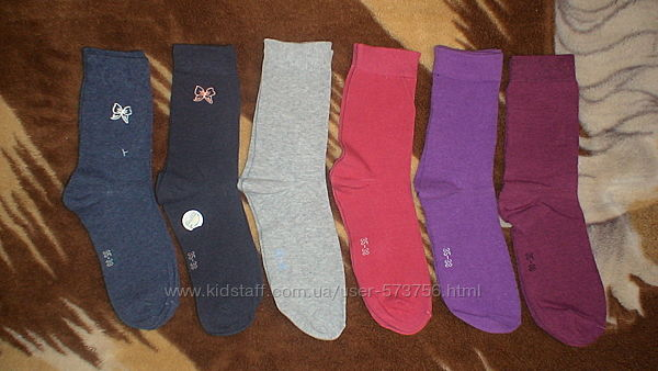 Новые качественные удобные носки р. 35-38 Германия
