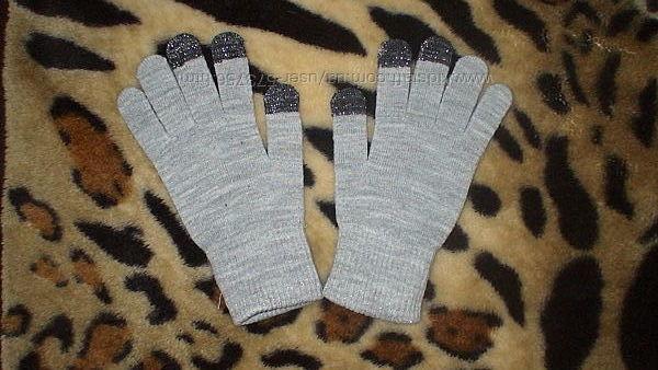 Новые сенсорные трикотажные перчатки HsM на 9-14 лет Англи
