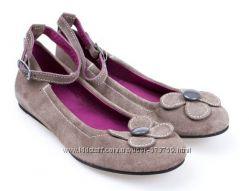 Кожаные туфли балетки DPAM Франция, р. 28-36 Европа