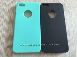 Силиконовые однотонные тонкие чехлы для Iphone 5 5S