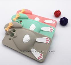 Чехол кролик Samsung Galaxy S3 S3 duos, S4, S6, J3, J5, J7 силиконовый