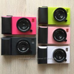 Чехол-фотоаппарат для iPhone 4G, 4GS 5 цветов в упаковке