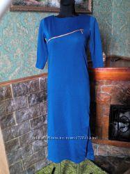 Новое платье миди с молнией