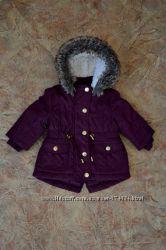 Тёплая демисезонная курточка - парка  от F&F