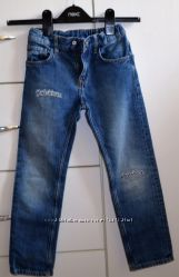 джинсы H&M slim denim   р-р 116 6 лет